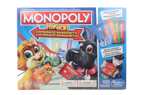 Monopoly Junior Electronic Banking CZSK