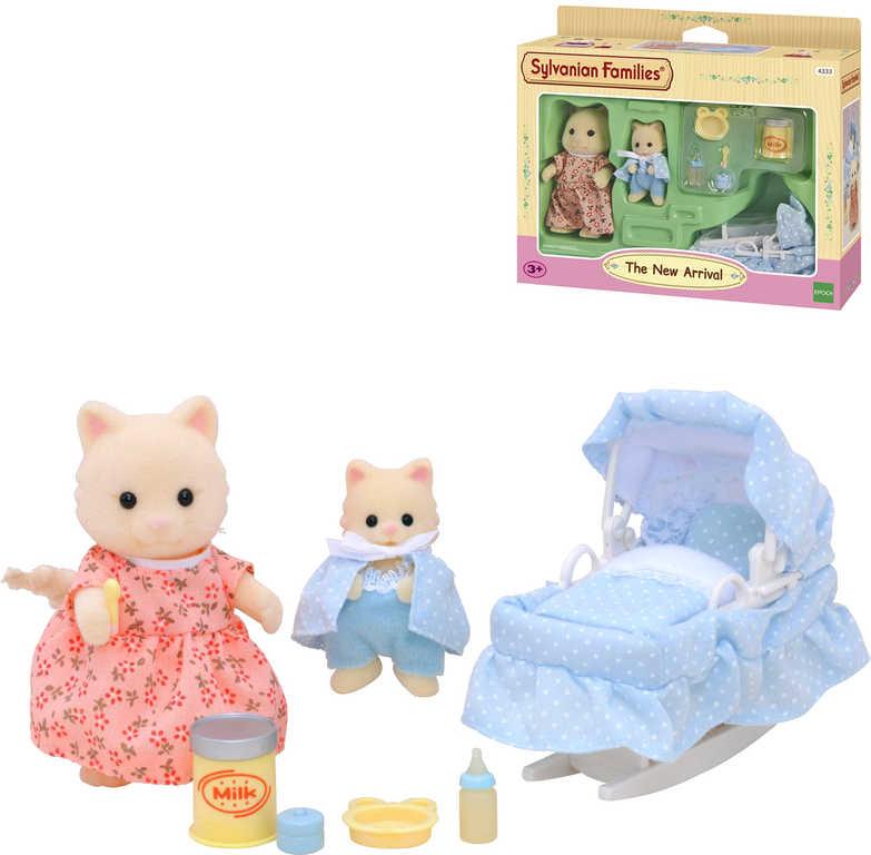 Sylvanian Families Péče o miminko herní set 2 postavičky s doplňky