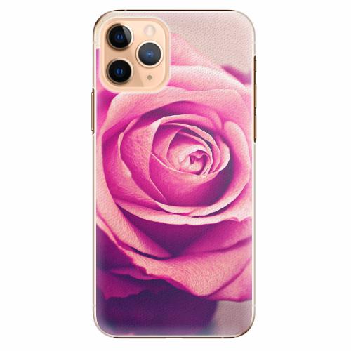 Plastový kryt iSaprio - Pink Rose - iPhone 11 Pro