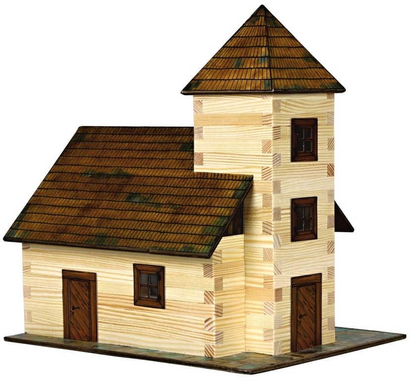 WALACHIA Kostel 33W12 dřevěná stavebnice