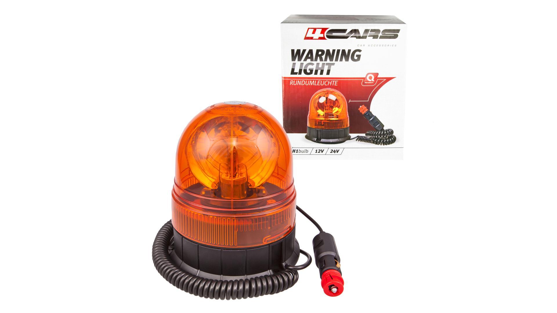 4CARS Vícefunkční výstražné světlo 24V