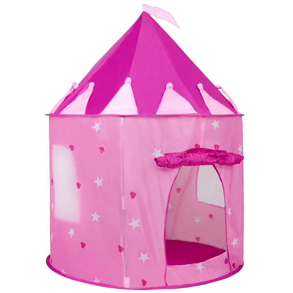 Dětský stan Hrad PlayTo - růžová