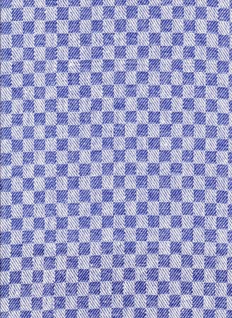 Pracovní ručník hladký 50x100cm 220g tmavě modrá kostka