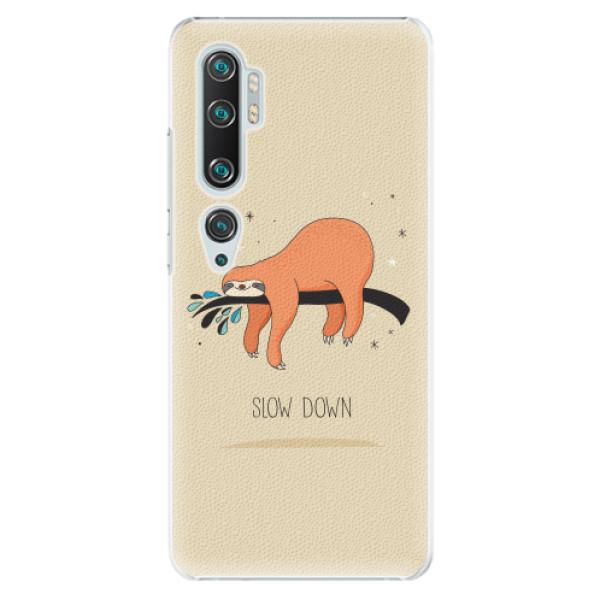 Plastové pouzdro iSaprio - Slow Down - Xiaomi Mi Note 10 / Note 10 Pro