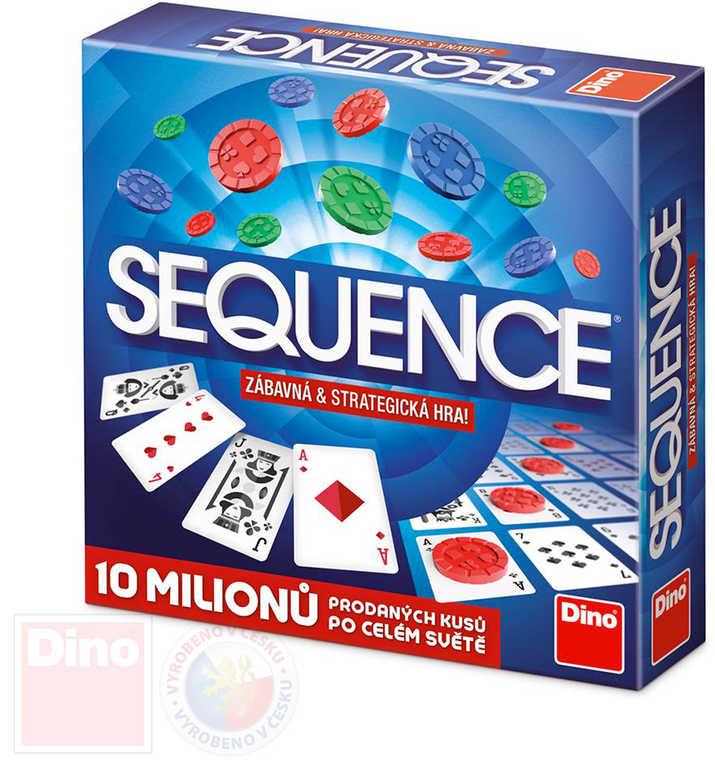 DINO Hra karetní Sequence *SPOLEČENSKÉ HRY*