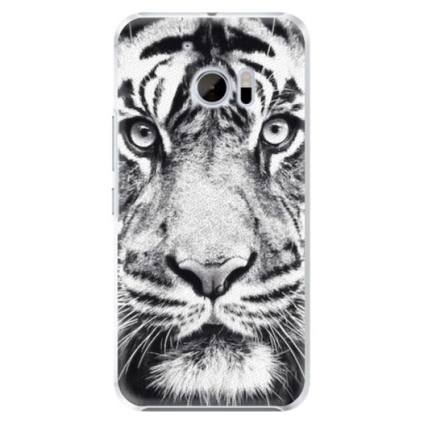 Plastové pouzdro iSaprio - Tiger Face - HTC 10