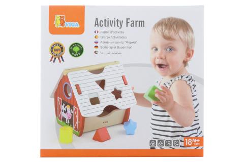 Vkládačka s aktivitami farma
