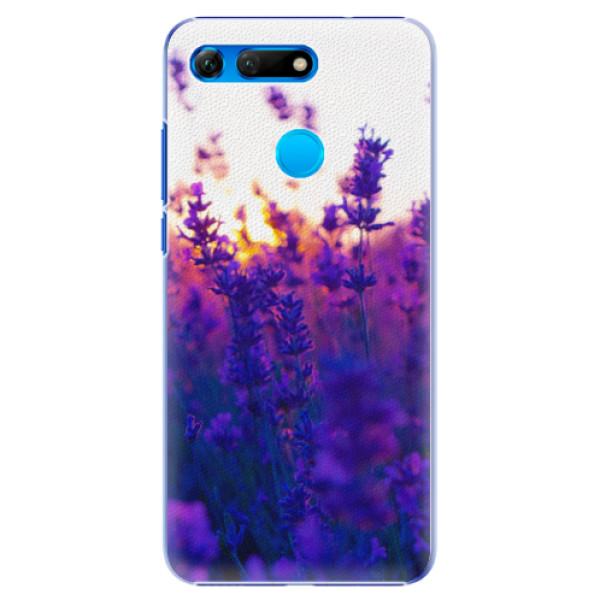 Plastové pouzdro iSaprio - Lavender Field - Huawei Honor View 20