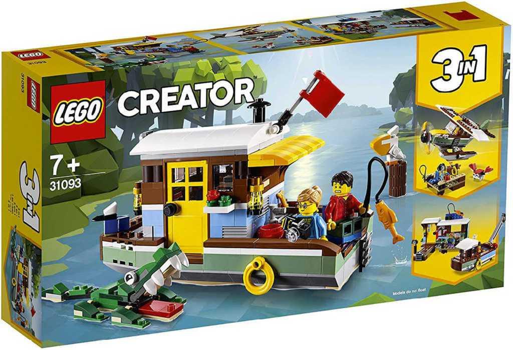 LEGO CREATOR Říční hausbót 3v1 31093