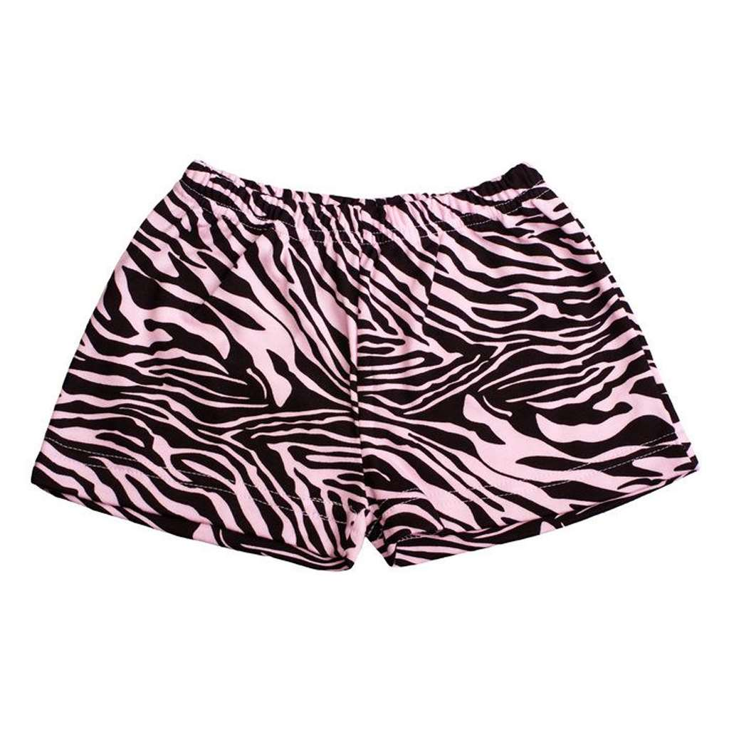 Dětské kraťasy New Baby Zebra - růžová/128 (7-8 let)