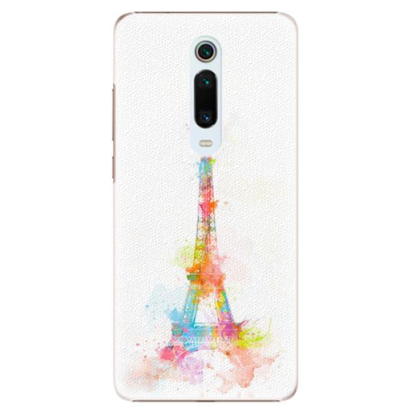 Plastové pouzdro iSaprio - Eiffel Tower - Xiaomi Mi 9T Pro