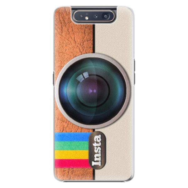 Plastové pouzdro iSaprio - Insta - Samsung Galaxy A80