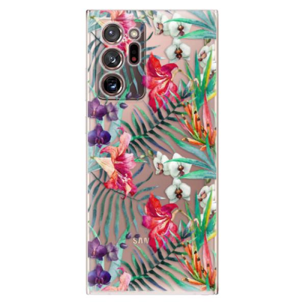 Odolné silikonové pouzdro iSaprio - Flower Pattern 03 - Samsung Galaxy Note 20 Ultra