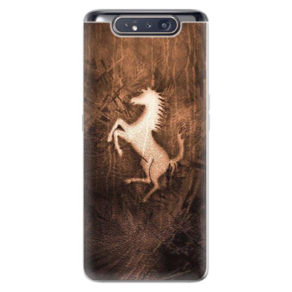 Odolné silikonové pouzdro iSaprio - Vintage Horse - Samsung Galaxy A80