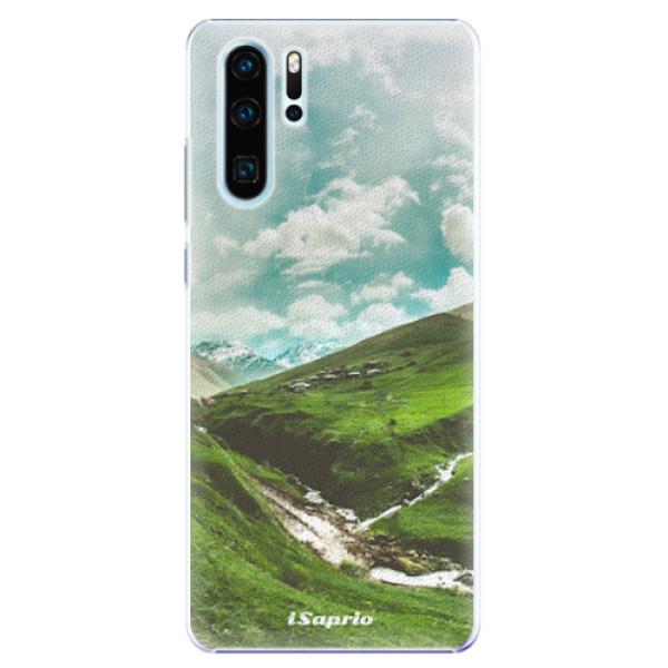 Plastové pouzdro iSaprio - Green Valley - Huawei P30 Pro