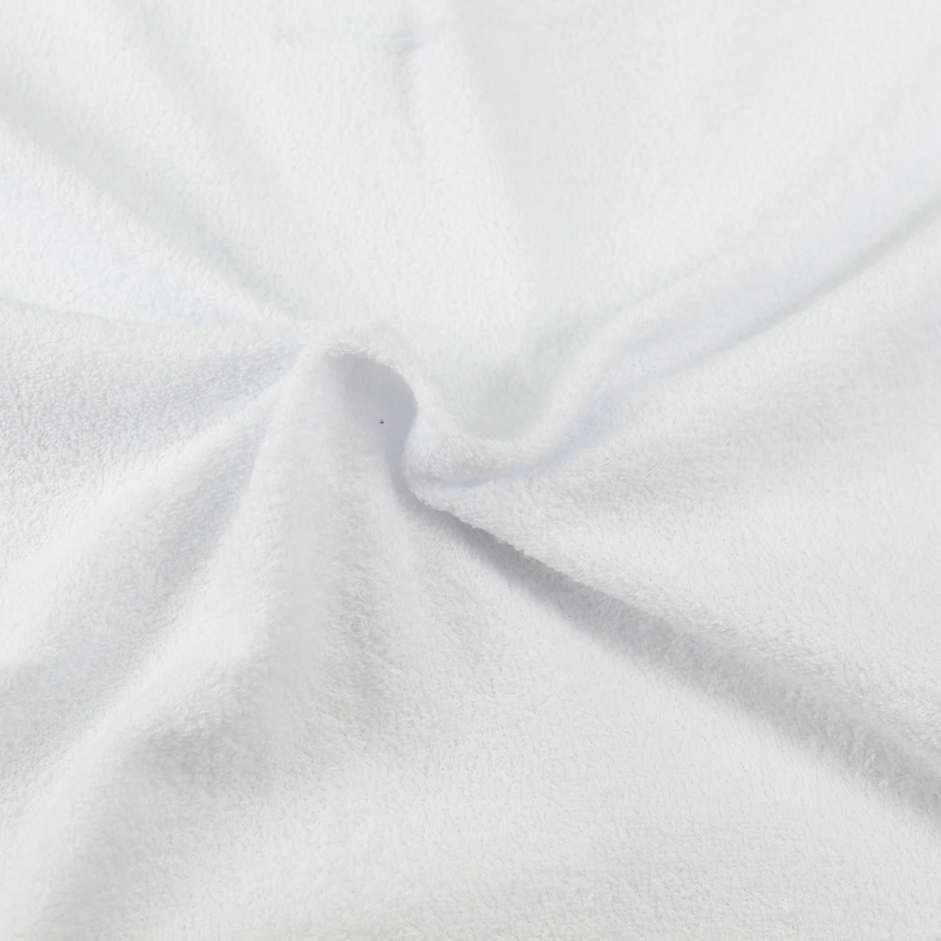 Froté prostěradlo bílé, Výběr rozměru - 200x200cm