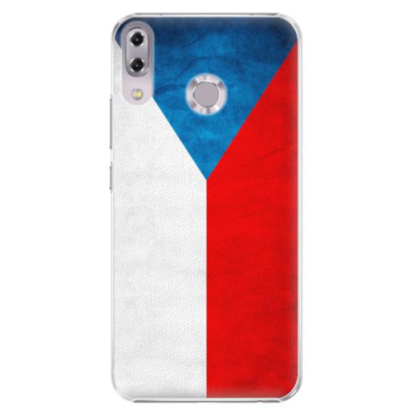 Plastové pouzdro iSaprio - Czech Flag - Asus ZenFone 5 ZE620KL