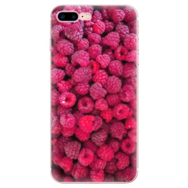 Odolné silikonové pouzdro iSaprio - Raspberry - iPhone 7 Plus
