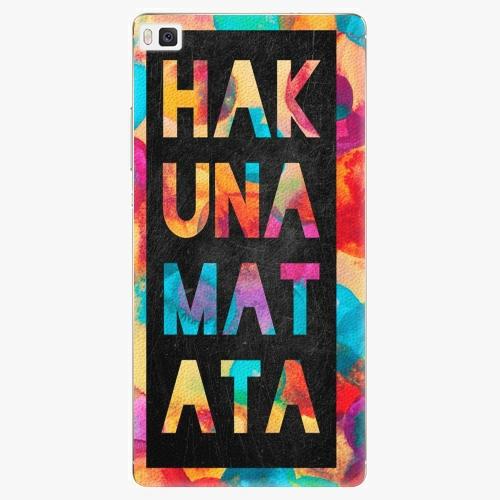 Plastový kryt iSaprio - Hakuna Matata 01 - Huawei Ascend P8