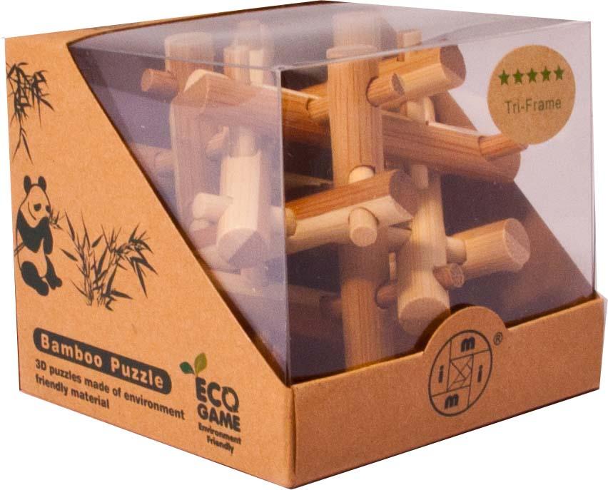 Bambusový - hlavolam - Hranice