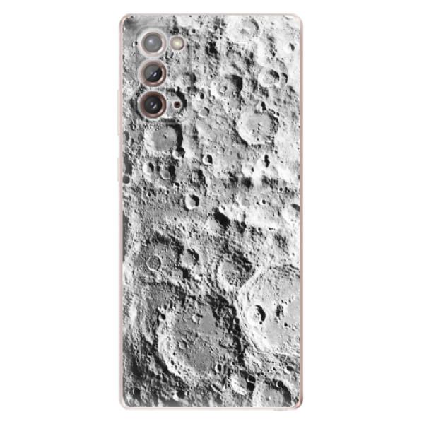Odolné silikonové pouzdro iSaprio - Moon Surface - Samsung Galaxy Note 20