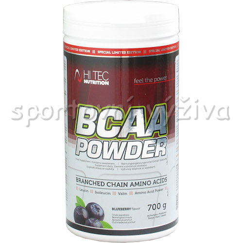 BCAA powder 700g limited - edition-boruvka