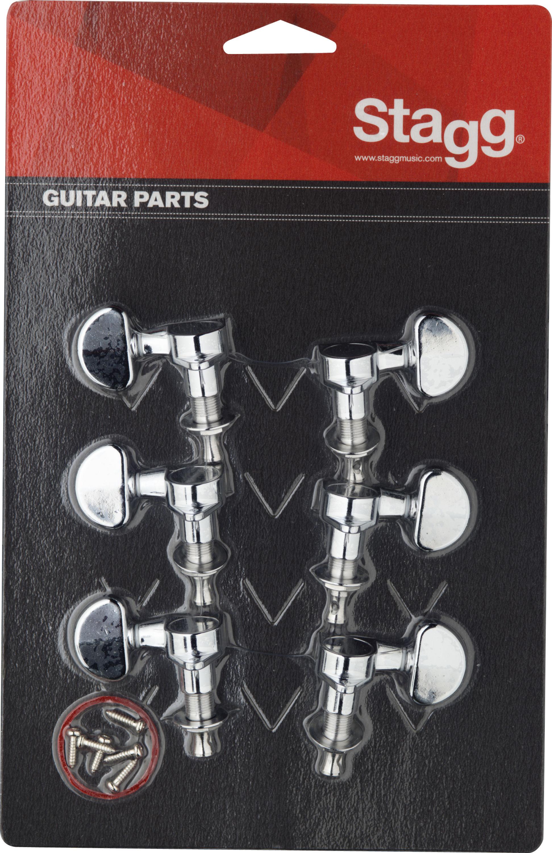 Stagg KG395CR, ladící mechanika pro kytaru