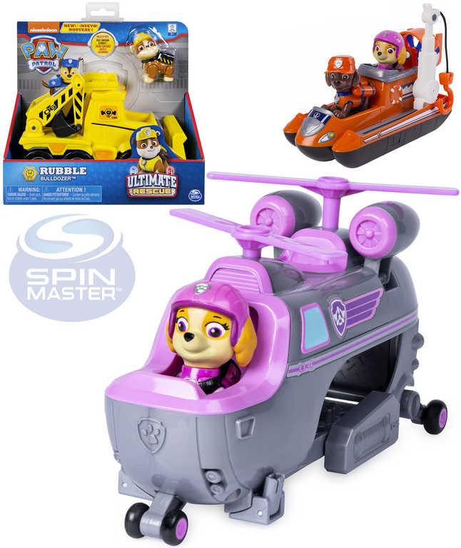 SPIN MASTER Paw Patrol vozidlo základní set s figurkou Tlapková patrola -6 druhů