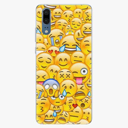 Plastový kryt iSaprio - Emoji - Huawei P20