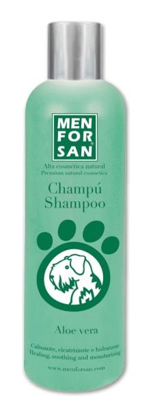 Menforsan přírodní zklidňující, hojivý šampon s výtažky z aloe vera 300ml
