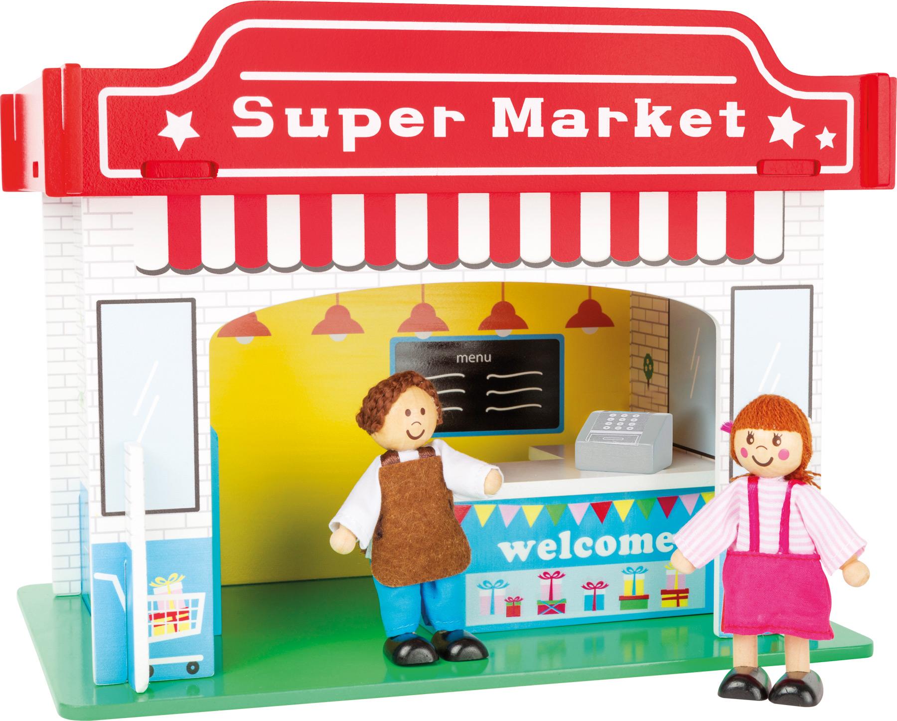 Small Foot Supermarket s příslušenstvím