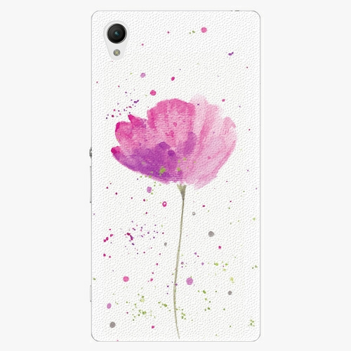 Plastový kryt iSaprio - Poppies - Sony Xperia Z1