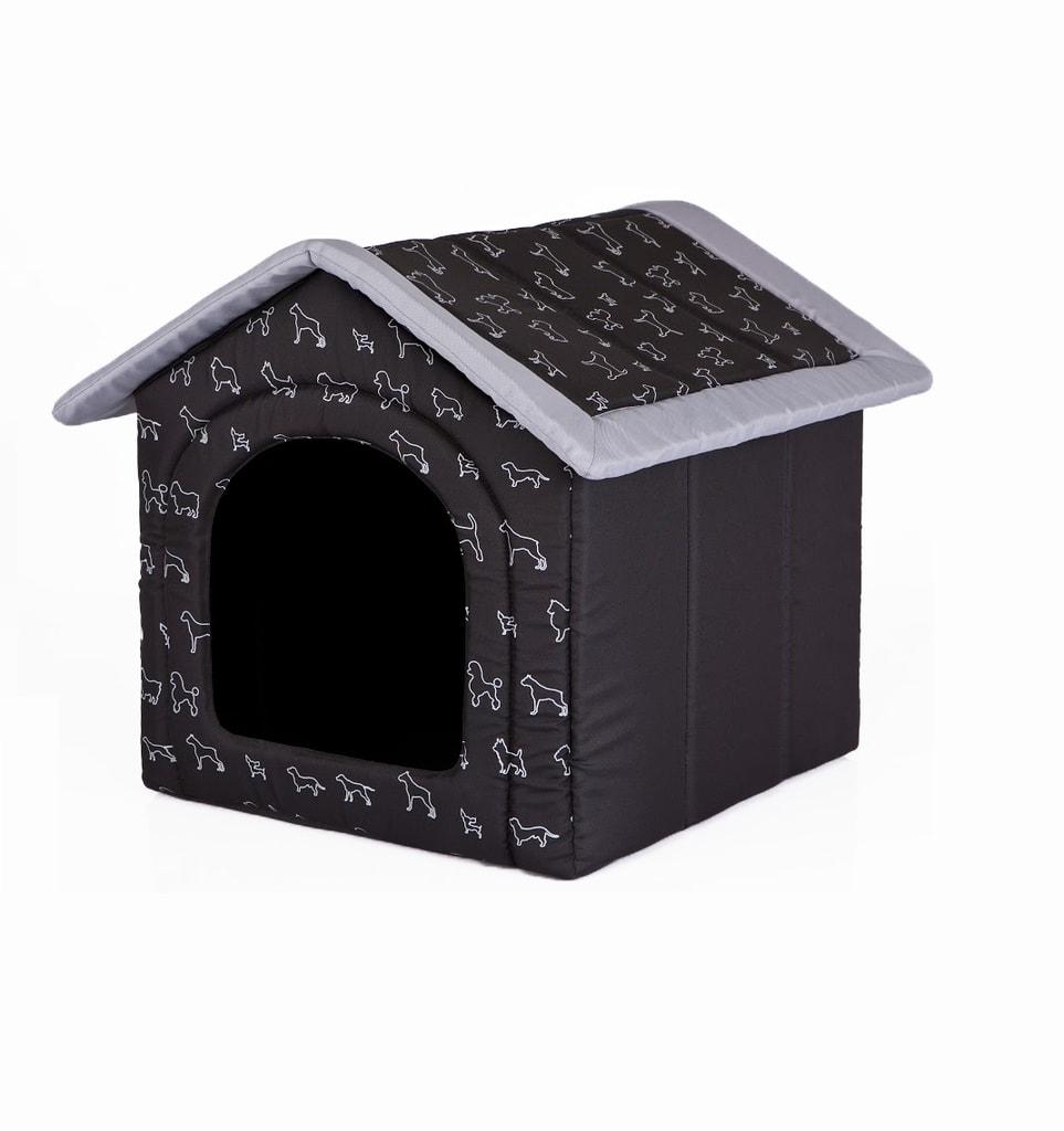Domeček pro psa Reedog Black Dog - L