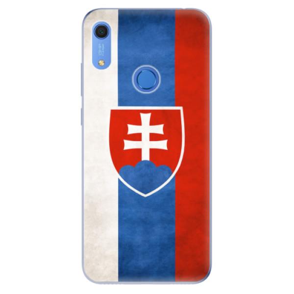 Odolné silikonové pouzdro iSaprio - Slovakia Flag - Huawei Y6s
