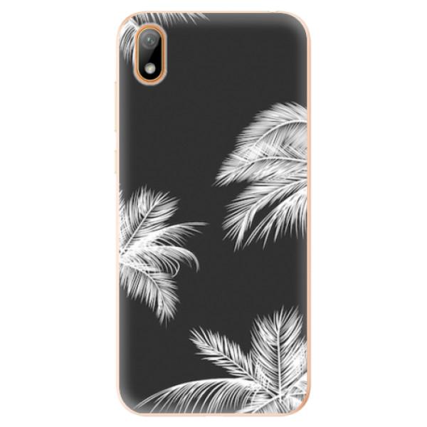 Odolné silikonové pouzdro iSaprio - White Palm - Huawei Y5 2019