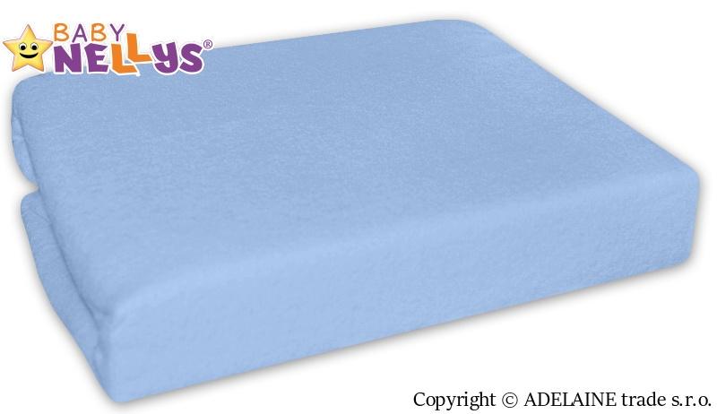Nepromokavé prostěradlo 120x60cm - sv. modrá - 120x60