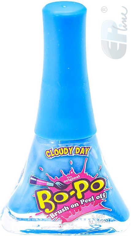 EP Line BO-PO Lak na nehty slupovací tmavě modrý mění barvu Cloudy Day