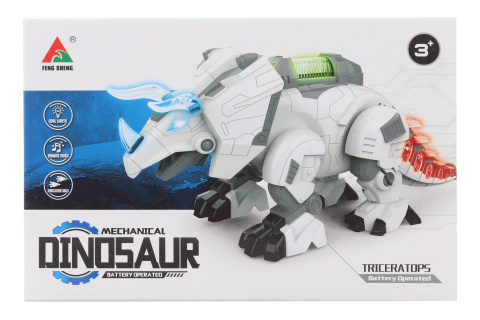 Robot Triceratops na baterie