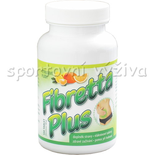 Fibretta plus 100 tablet citrus