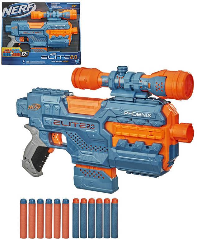 HASBRO NERF ELITE 2.0 Phoenix CS-6 Set blaster + 12 šipek