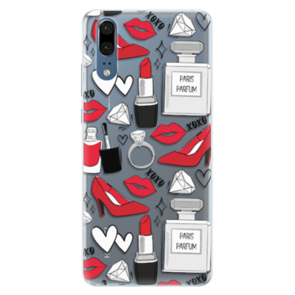 Silikonové pouzdro iSaprio - Fashion pattern 03 - Huawei P20