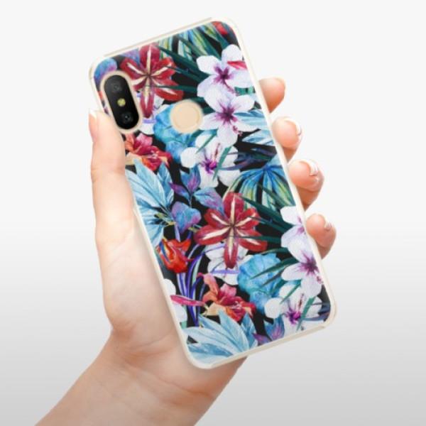 Plastové pouzdro iSaprio - Tropical Flowers 05 - Xiaomi Mi A2 Lite