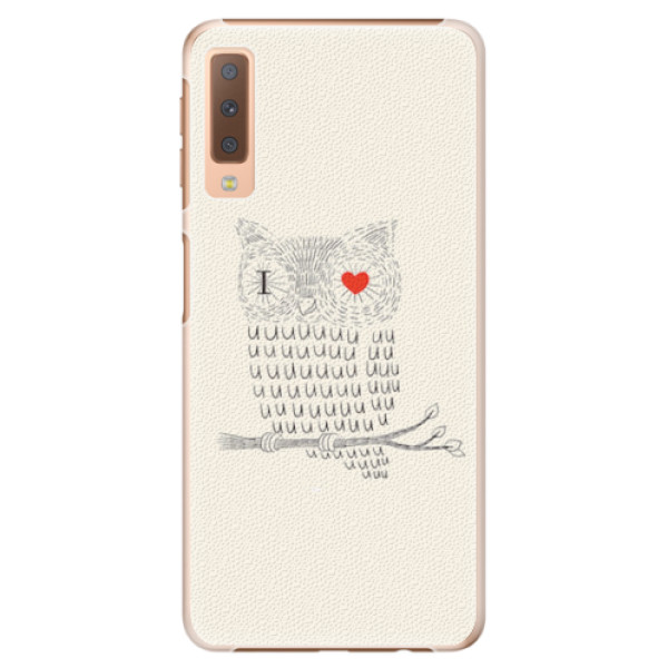 Plastové pouzdro iSaprio - I Love You 01 - Samsung Galaxy A7 (2018)