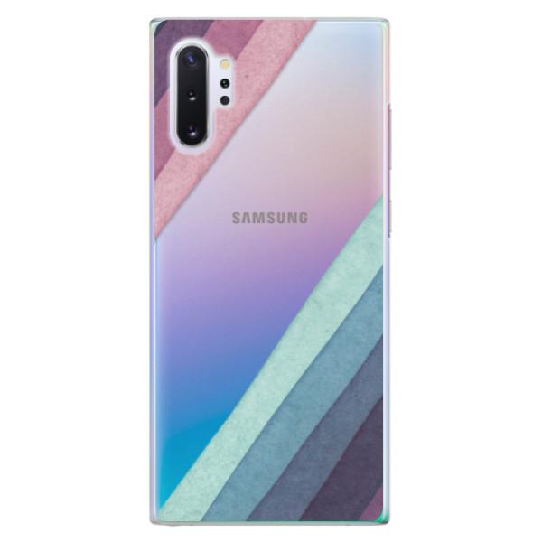 Plastové pouzdro iSaprio - Glitter Stripes 01 - Samsung Galaxy Note 10+