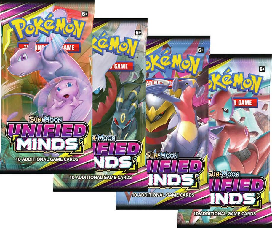 ADC HRA Karty doplňkové Pokémon SM11 Unified Minds Booster 10 karet