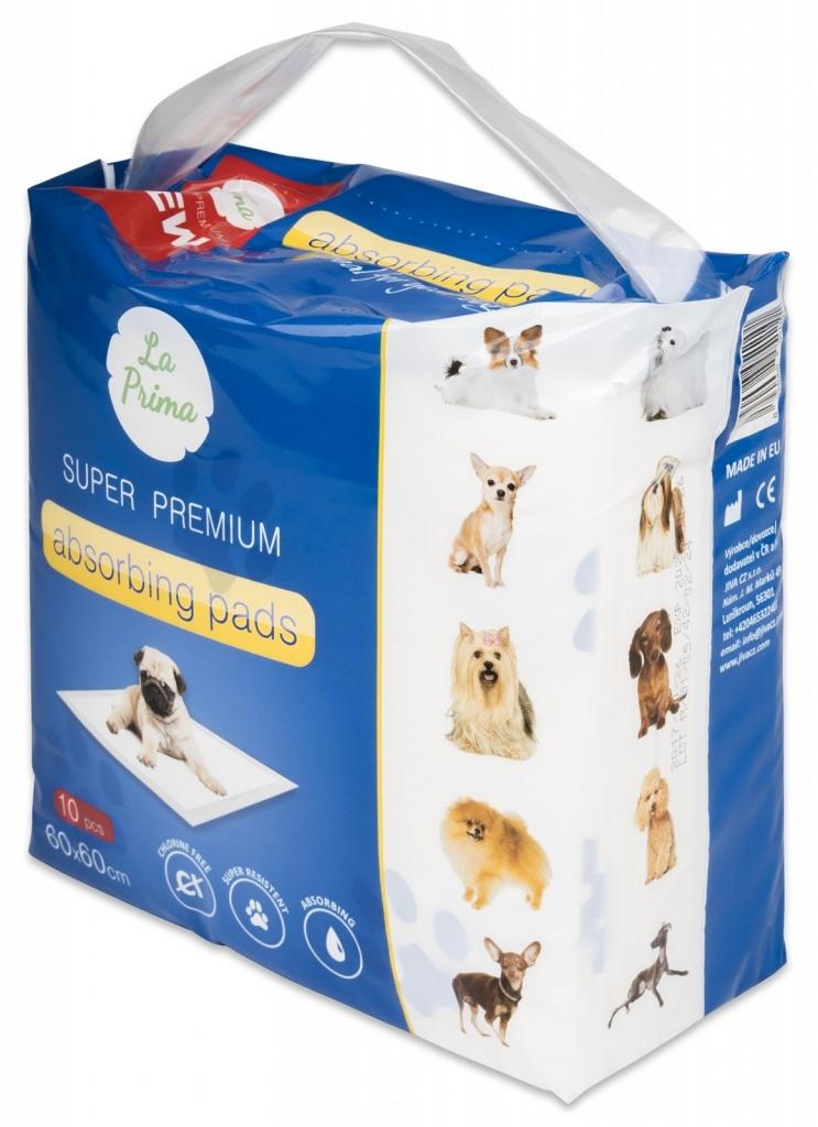 Podložky pro psy a domácí zvířata 60x60 cm 10 ks
