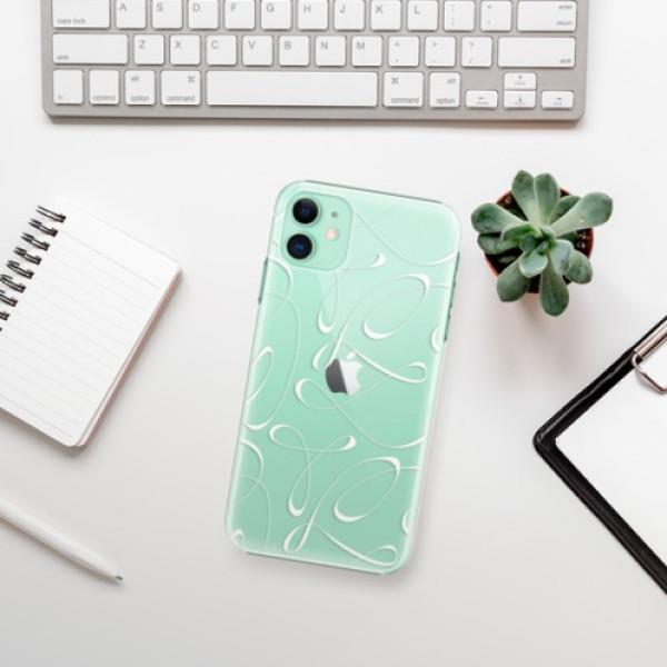 Plastové pouzdro iSaprio - Fancy - white - iPhone 11