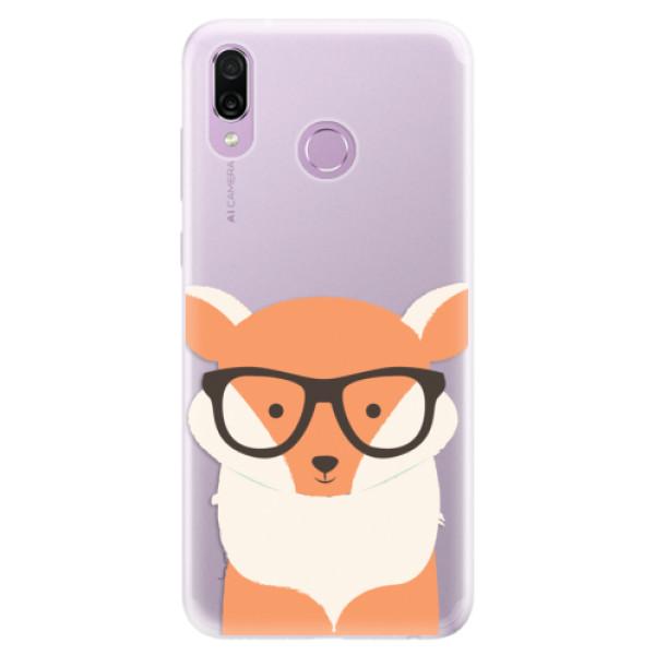 Silikonové pouzdro iSaprio - Orange Fox - Huawei Honor Play