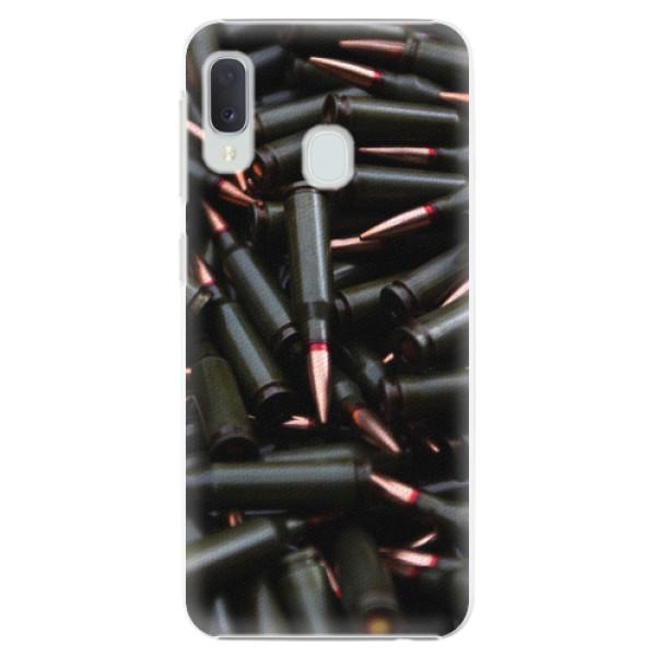 Plastové pouzdro iSaprio - Black Bullet - Samsung Galaxy A20e
