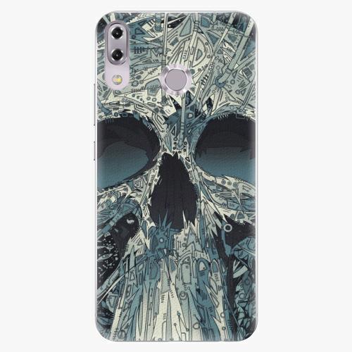 Plastový kryt iSaprio - Abstract Skull - Asus ZenFone 5Z ZS620KL